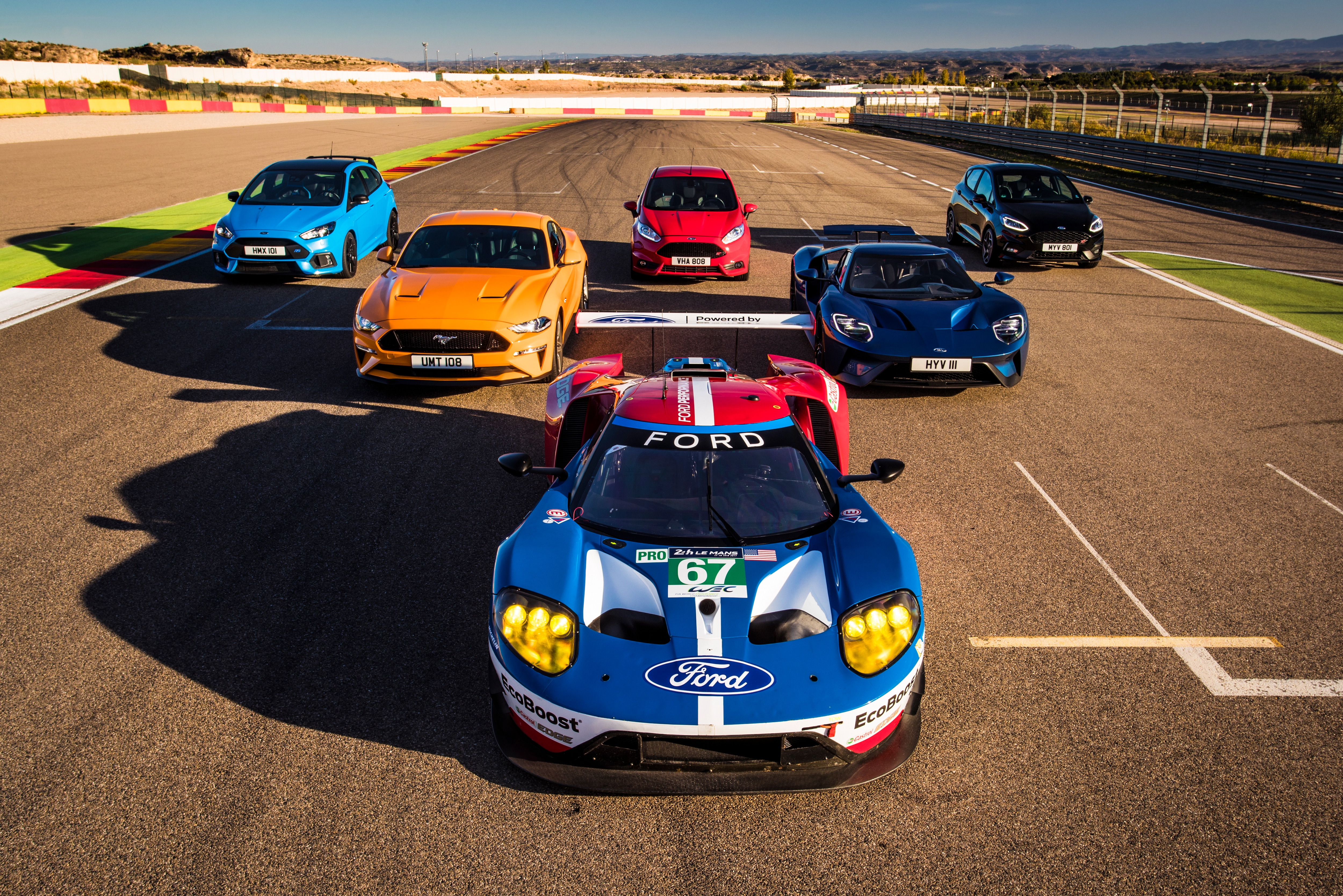 Eight Ford Performance Models + Eight Ford GT Race Drivers = One ...